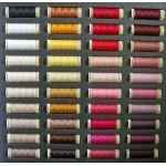 Gutermann 100% Polyester Thread Album - 80 spools x 100 metres