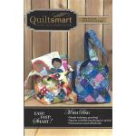Quiltsmart Midi Bag Pattern & Printed Interfacing Bag Kit by Quiltsmart Bag Patterns - OzQuilts
