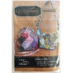 Quiltsmart Bitty Bag Pattern & Printed Interfacing Bag Kit by Quiltsmart Bag Patterns - OzQuilts