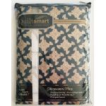 Quiltsmart Drunkard's Path Pattern & Printed Fusible Interfacing Quilt Kit by Quiltsmart Quiltsmart Kits - OzQuilts