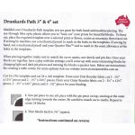 "Matilda's Own Drunkards Path 3"" & 4"" Patchwork Template Set by Matilda's Own Quilt Blocks - OzQuilts"