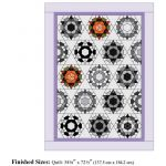 "Marti Michell Kite & Crown Patchwork Template Set -2"" Finished Hexagons by Marti Michell Quilt Blocks - OzQuilts"