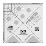 "Creative Grids Cat's Cradle Tool 7"" x 7"" by Creative Grids Specialty Rulers - OzQuilts"