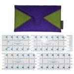"Karen Kay Buckley Perfect Adjustable Square 3"" by Karen Kay Buckley Square Rulers - OzQuilts"