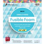 "Matilda's Own Single Sided Fusible Foam, 36"" x 58"" by Matilda's Own Pre-Cut Batts - OzQuilts"