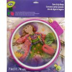 LoRan Sure Grip Embroidery Hoop - 7 inches (17.78cm) by Loran Embroidery - OzQuilts