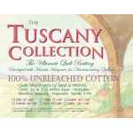 Hobbs Tuscany Unbleached Cotton  Batting 120in x 120in King Size