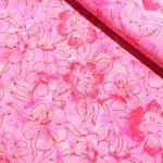 Benartex Costa Luna Pink Floral Batik