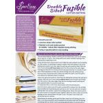 Sew Easy 100% Cotton Double Sided FUSIBLE  Batting, 10 metres x 2.5 metres by Sew Easy Bulk Rolls of Batting - OzQuilts