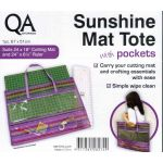 Sunshine Mat Tote with Pockets, Large Purple Size by Sew Easy Organisers - OzQuilts