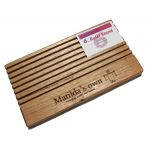 Matilda's Own Wooden Ruler Stand 3mm thick slots by Matilda's Own Accessories - OzQuilts