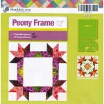Matilda's Own Peony Frame Patchwork Template Set by Matilda's Own Quilt Blocks - OzQuilts