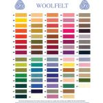 Wool Felt 20cm x 30cm by Hollandfelt European Wool Felt  - OzQuilts