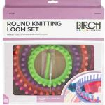 Birch Round Knitting Loom Set by Birch Knitting Looms - OzQuilts