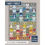 Fancy Forest Quilt Kit by Elizabeth Hartman featuring Kona Cotton & Essex Yarn Dyed by Elizabeth Hartman Great Gift Ideas - OzQuilts