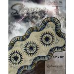 Stormy Seas Table Runner by Quiltworx Patterns & Foundation Papers