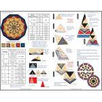 Gem Jewel Box Junior Ruler by Cheryl Phillips by Phillips Fiber Art Wedge Rulers - OzQuilts