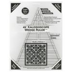 45 Degree Kaleidoscope Wedge Ruler by Marilyn Doheny Wedge Rulers - OzQuilts