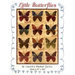 Little Butterflies Pattern by Edyta Sitar of Laundry Basket Quilts Applique - OzQuilts