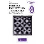 """Marti Michell 6"""" Winding Ways Templates by Marti Michell Quilt Blocks - OzQuilts"""