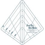 Jewel Box GemStar Ruler by Cheryl Phillips by Phillips Fiber Art Wedge Rulers - OzQuilts