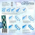 Squedge Corner Tool by Cheryl Phillips by Phillips Fiber Art Wedge Rulers - OzQuilts