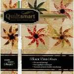Quiltsmart Black Eyed Susan Pattern & Printed interfacing Quilt Kit by Quiltsmart Quiltsmart Kits - OzQuilts