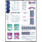Simple Curves Ruler by Cheryl Phillips by Phillips Fiber Art Scallops, Wave, Curve Rulers - OzQuilts