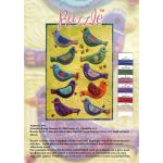 Wonderfil Razzle Sue Spargo Thread Colour Chart by Wonderfil Colour Card Booklets Sue Spargo Razzle Rayon - OzQuilts