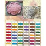 Wonderfil Razzle Sue Spargo Thread Colour Chart by Wonderfil  Thread Colour Charts - OzQuilts
