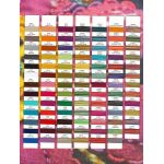 Wonderfil Sue Spargo Eleganza Thread Colour Chart by Wonderfil Colour Card Booklets Thread Colour Charts - OzQuilts