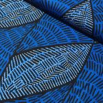 Body Painting Blue Australian Aboriginal Art Fabric by June Bird by M & S Textiles Cut from the Bolt - OzQuilts