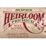 "Batting Heirloom 100% Wool King Size Quilt Batting 120"" x 120"""