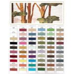 Wonderfil Konfetti Thread Colour Chart by Wonderfil Konfetti 12wt Cotton Solid Colours Thread Colour Charts - OzQuilts