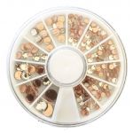 Swarovski Hotfix Flatback Crystals<br>Clear Crystal Compact by Swarovski Swarovski Hot Fix Crystals