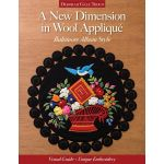 A New Dimension in Wool Applique by C&T Publishing Applique - OzQuilts