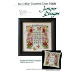 Australian Floral Sampler Counted Cross Stitch Kit by  Embroidery - OzQuilts