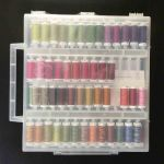 Sulky Petites 80 spools of 12 weight Cotton Thread in a Slimline Box - Assortment 2 by Sulky Thread Sets - OzQuilts