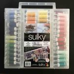 Sulky Petites 80 spools of 12 weight Cotton Thread in a Slimline Box by Sulky Thread Sets - OzQuilts