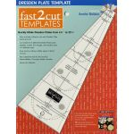 Fast2cut Dresden Plate Template by C&T Publishing Wedge Rulers - OzQuilts