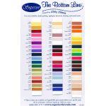 Bottom Line Thread, 60wt 1420yds, 636 Bright Blue by Superior Bottom Line Thread Bottom Line Thread 1420 Yards - OzQuilts
