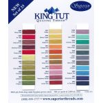 Superior King Tut Cotton, Ramses Red, 500 Yard Spool by Superior King Tut Thread King Tut Cotton Thread 500 Yards - OzQuilts