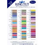 King Tut Colour Card 1 - First set of 50 Colours