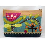 Wild Tulip Sac Pattern by Sue Spargo by Sue Spargo Bag Patterns - OzQuilts