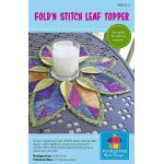 Fold'n Stitch Leaf Topper by PoorHouse Quilt Designs Table Toppers, Tuffets & Runners - OzQuilts