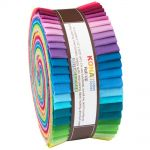 "Kona Cotton Roll Up 2014 New Solids Palette  2.5"" Strips x 40 Pieces"