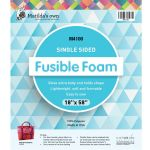 "Matilda's Own Single Sided Fusible Foam, 18"" x 58"" by Matilda's Own Pre-Cut Batts - OzQuilts"