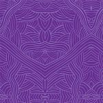 Untitled Purple Australian Aboriginal Art Fabric by Nambooka by M & S Textiles Cut from the Bolt - OzQuilts