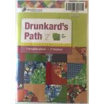 "Matilda's Own Drunkards Path 2"" Patchwork Template Set"