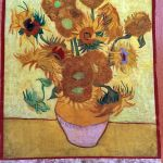 Sunflower Vincent Van Gogh Fabric Panel